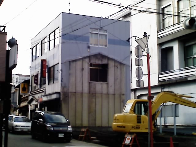 建物の痕跡
