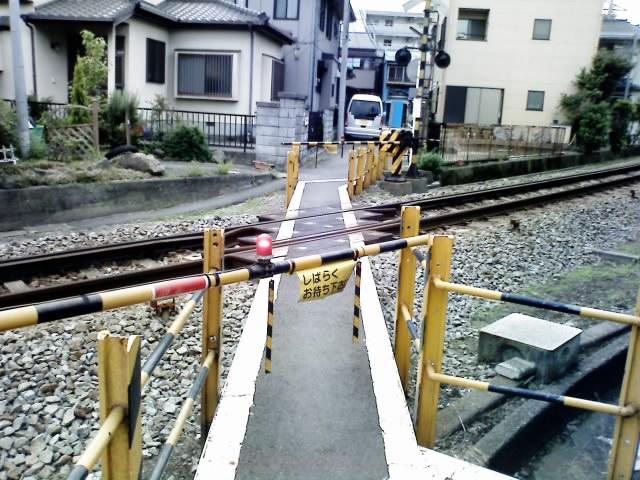 伊豆箱根鉄道駿豆線飯田踏切