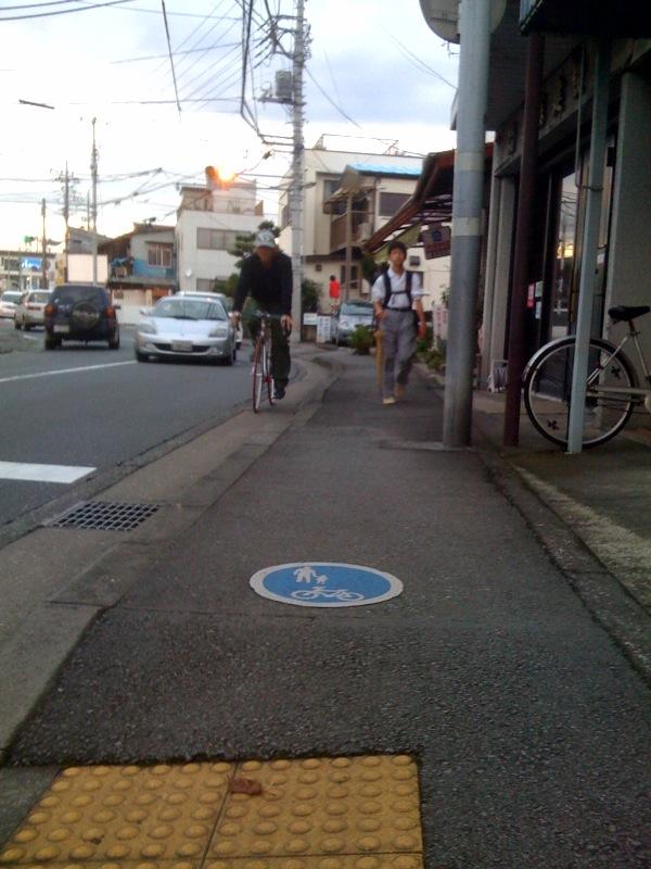 自転車および歩行者専用道?