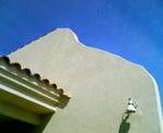 スペインの青い空